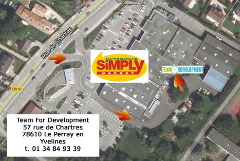 Plan Acces Team4development- Le Perray