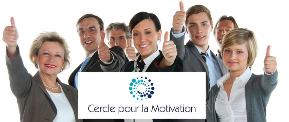 cercle pour la motivation au travail