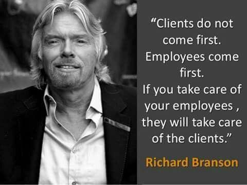 Branson relation client