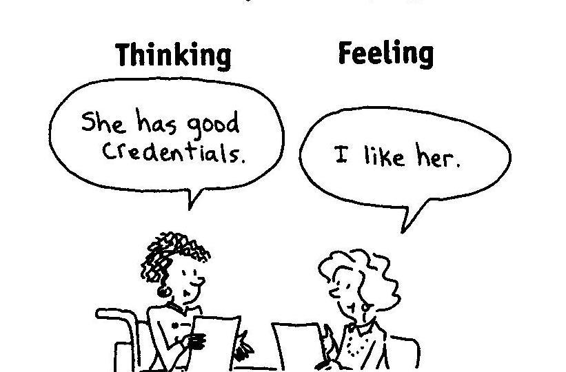MBTI : Rationnel ou Relationnel, comment prenez-vous vos décisions ?