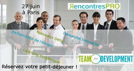 RencontresPRO: Coaching en entreprise et team building
