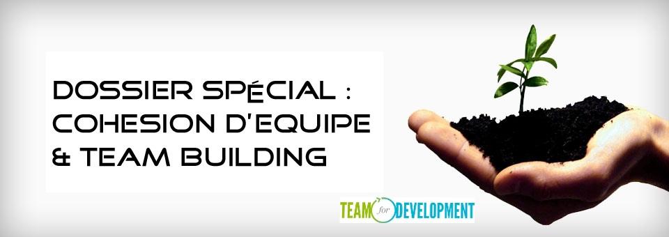 dossier- cohésion d'équipe team building