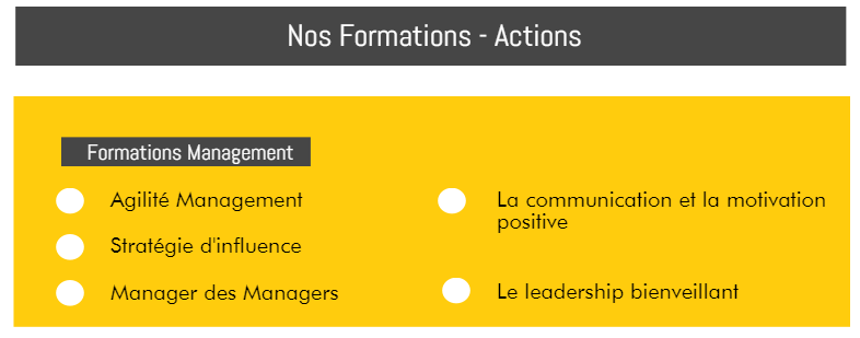 Form'Action Management, Leadership, Changement, Performance 2