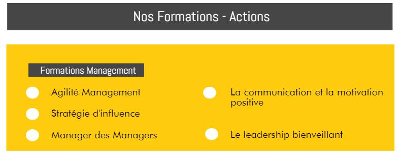 Form'Action Management, Leadership, Changement, Performance 2